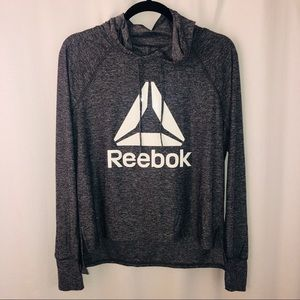 Reebok pull over hoodie, size medium. Active Wear